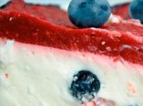 Jak zrobić sernik malinowo borówkowy z musem