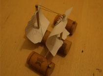 Jak zrobić stateczek z korków