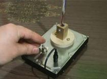 Jak zrobić lampkę z dysku twardego - ulepszona wersja