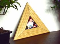 Jak zrobić trójkątną ramkę do zdjęć