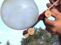 Jak zrobić samochodzik napędzany powietrzem
