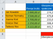 Jak opanować Excel 2010 #3 - arkusz, kolumny, wiersze i komórki