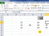 Jak opanować Excel 2010 #6 - dane i przejścia w komórkach