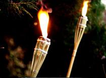 Jak zrobić pochodnie bambusowe