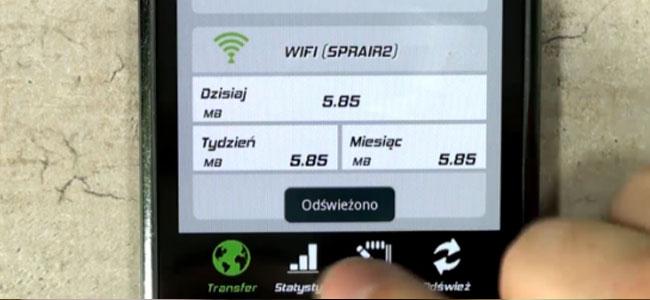 Jak kontrolować transfer danych na smartfonie z Androidem