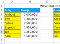 Jak korzystać z Excel 2013 #4 - Ifna i Vlookup