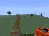 Jak zrobić spadającą ścieżkę w Minecraft
