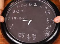 Jak zrobić zegar matematyka