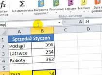 Jak korzystać z nazw poziomu arkusza w Excel 2010