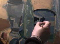 Jak malować farbami akrylowymi - martwa natura