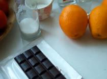 Jak zrobić mus czekoladowy z pomarańczą w likierze