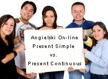 Jak nauczyć się angielskiego - Present Simple vs Continuous