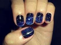 Jak pomalować paznokcie - styl Galaxy