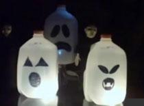 Jak zrobić latarnie z duchami