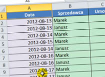 Jak pracować w Excel 2010 - tabela i dane