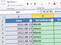 Jak wyłączyć autouzupełnianie w Excel 2010