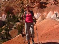 Jak używać kijków do chodzenia po górach