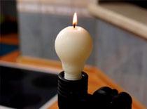 Jak zrobić świeczkę w kształcie żarówki