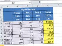 Jak ukrywać i odkrywać kolumny w Excel 2010