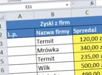 Jak korzystać z Excel 2010 w praktyce #1 - liczba porządkowa