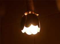 Jak zrobić lampkę do kuchni z łyżek