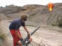 Jak zrobić łuk strzelający ognistymi zapałkami