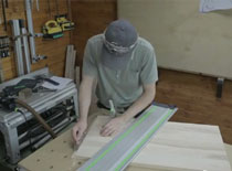 Jak zrobić szafkę łazienkową - cz. 3 prace nad formatkami