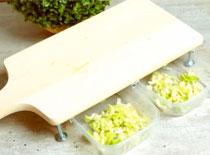 Jak zrobić deskę do krojenia z szufladkami