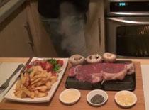 Jak zrobić stek na gorącym kamieniu