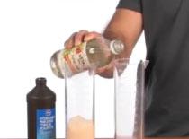 Jak wykonać sztuczkę z chemii - gaszenie i zapalanie