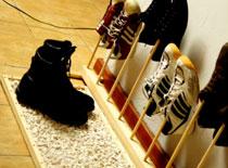 Jak zrobić nietypowy stojak na buty