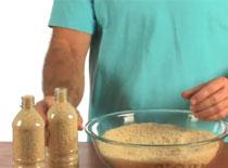 Jak wykonać sztuczkę z podnoszeniem butelki z ryżem