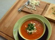 Jak zrobić kremową zupę pomidorową