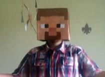 Jak zrobić głowę i kilof z Minecrafta