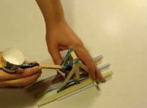Jak zbudować katapultę z patyczków po lodach