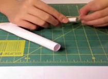Jak zrobić shotguna z papieru na wykałaczki