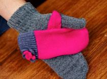 Jak zrobić rękawiczkę dla troskliwej mamy
