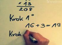 Jak mnożyć w pamięci liczby dwucyfrowe od 10 do 19