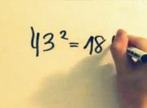 Jak w pamięci podnosić do kwadratu liczby dwucyfrowe