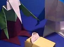 Jak zrobić Szopkę Bożonarodzeniową origami