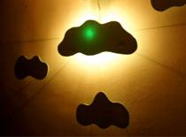 Jak zrobić podświetlane chmurki na ścianę