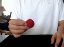 Jak wykonać sztuczkę ze znikającą piłeczką