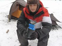 Jak używać turystycznej kuchenki gazowej zimą