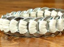 Jak zrobić bransoletkę z podkładek do śrub