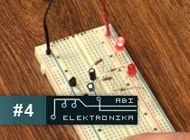 Jak zostać elektronikiem #4 - migające naprzemiennie diody