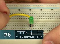 Jak zostać elektronikiem #6 - obwód tester polaryzacji