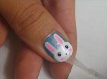 Jak zrobić króliczki na paznokciach