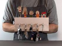 Jak zrobić rodzinny wieszak na klucze