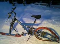 Jak zbudować śnieżny rower