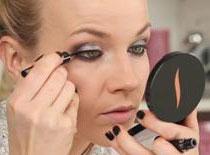 Jak zrobić karnawałowe srebrno-brązowe smoky eye